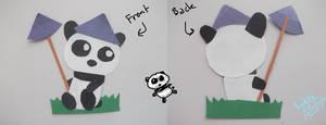Construction Paper Panda