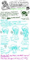 DAU Chibi: Assignment 3 Expressions