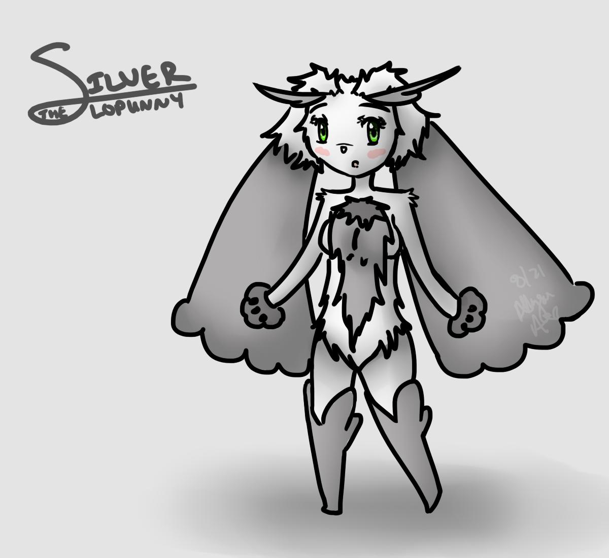 Commission: Shadow-Pikachu5: Silver