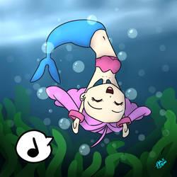 Commission: Starfy Mermaid by AzeeraTheNinja