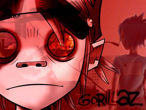 Gorillaz Photo Collage
