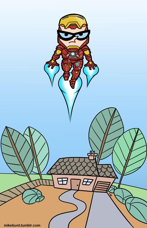 Dexter's Ironman by mikebunt