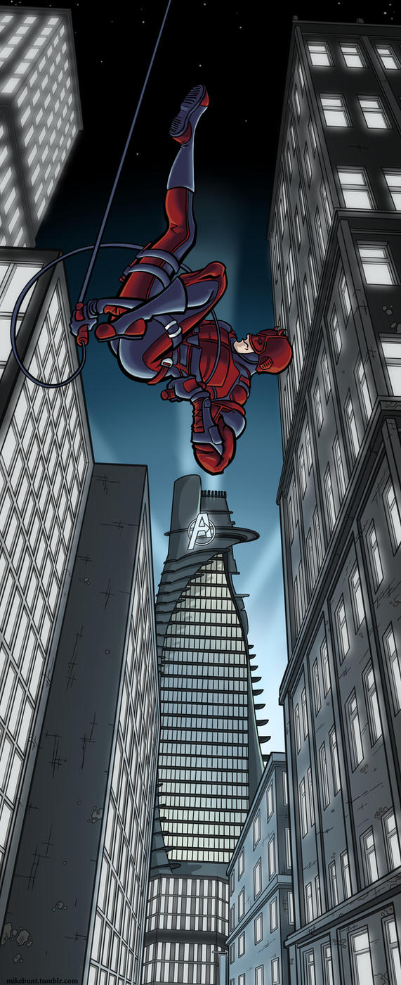 DareDevil by mikebunt