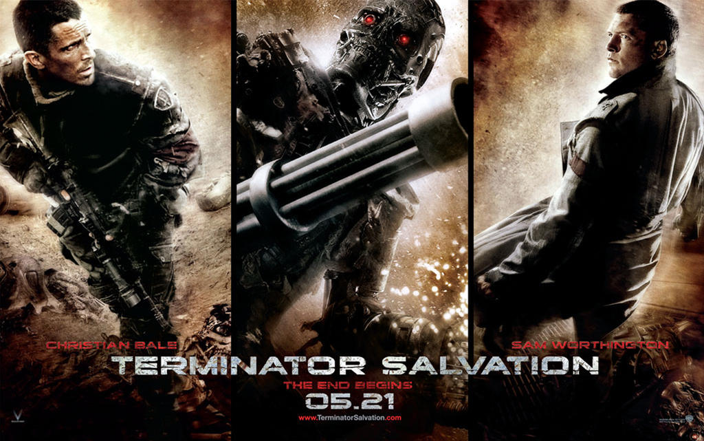 Terminator Salvation Wall