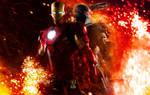 Iron Man 2 War Fire