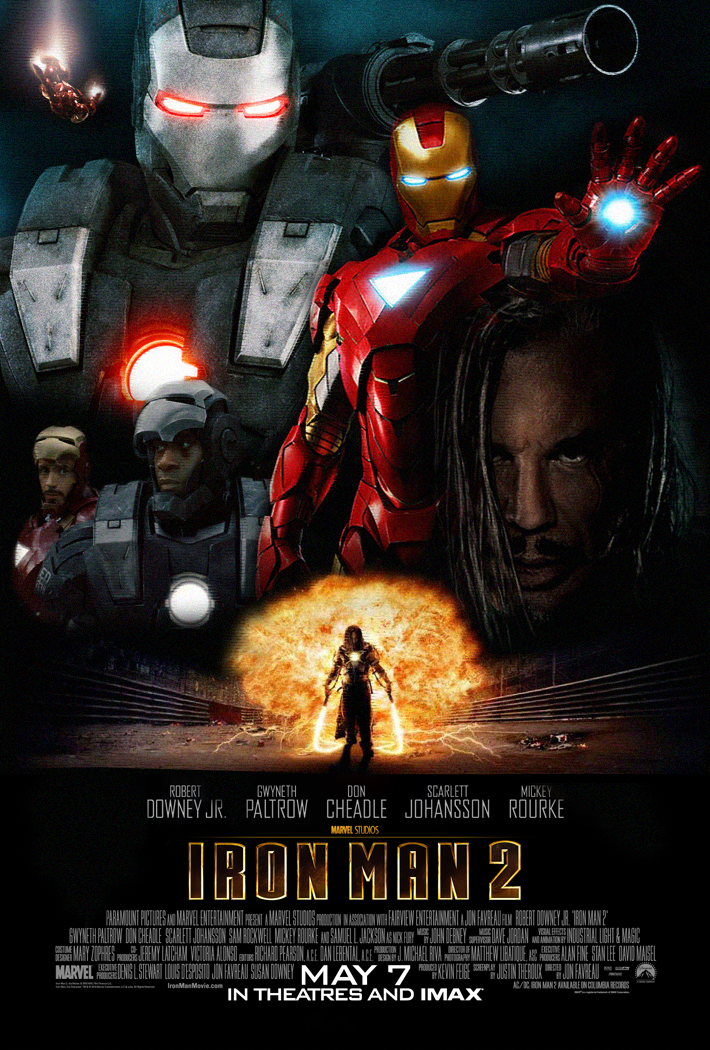 Iron Man 2 Poster by rehsup on DeviantArt