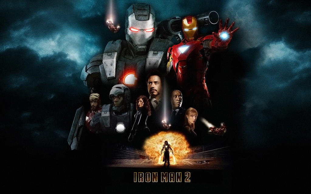 Iron Man 2 Poster Wall Mix By Rehsup On DeviantArt