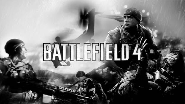Battlefield 4 v2 B/W