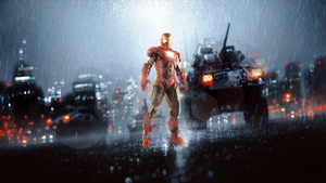 Iron Man in Battlefield ?