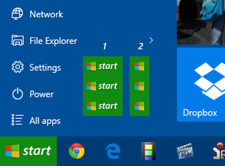 Start Luna for Windows 10 (Start10 Stardock) by rehsup