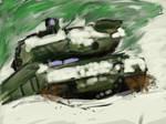 Leopard II speed painting