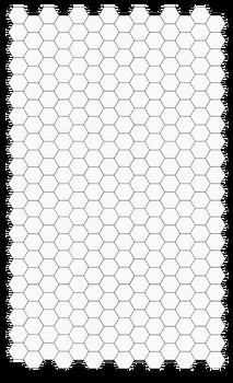 Legal Size hex sheet