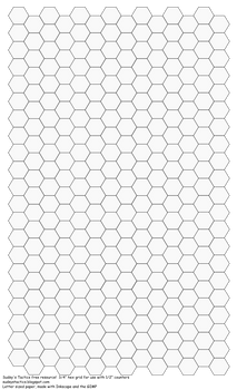 Legal Size hex sheet