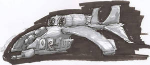 Gunship Sketch