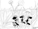 Army Ant patrol 13JAN99