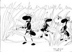 Army Ant patrol 14JAN99