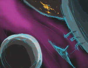 Spacey Sketch 08OCT15