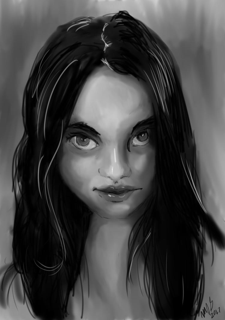 Sketch of Francesca 9APR17 by SudsySutherland