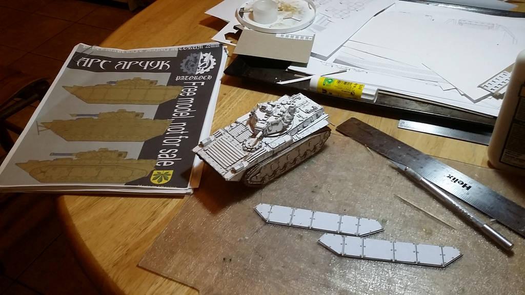 Patoroch BMP inspired SF MICV WIP by SudsySutherland