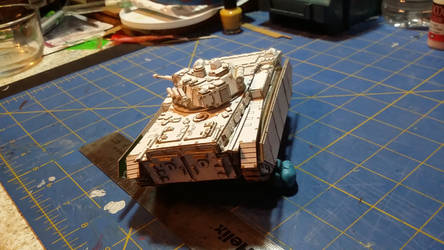Patoroch BMP inspired SF MICV WIP (rear view) by SudsySutherland