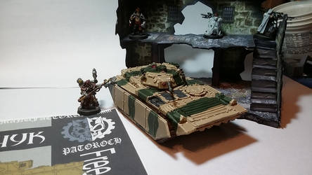 Patoroch BMP model completed (front and left)