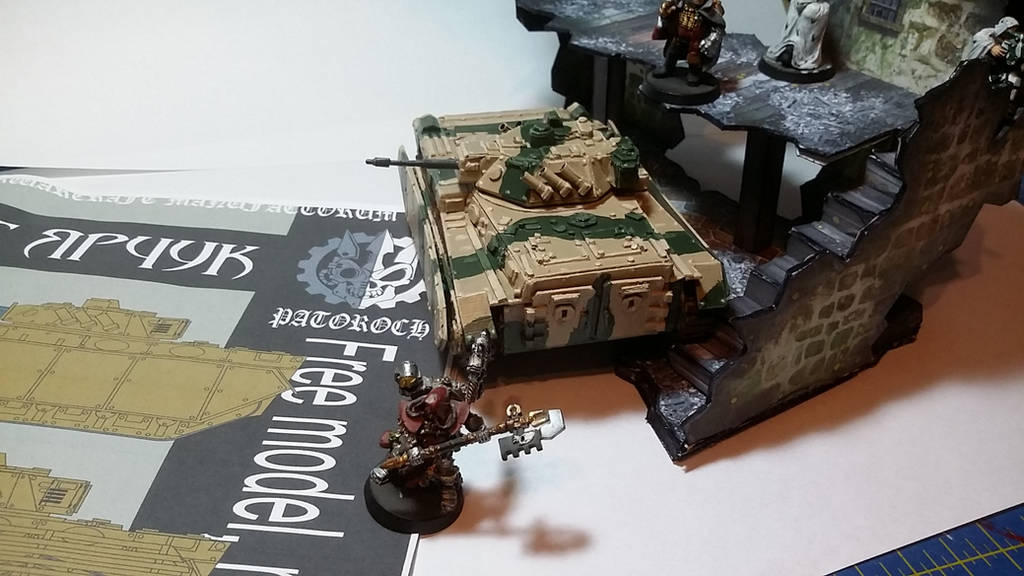 Patoroch BMP model completed (rear top) by SudsySutherland