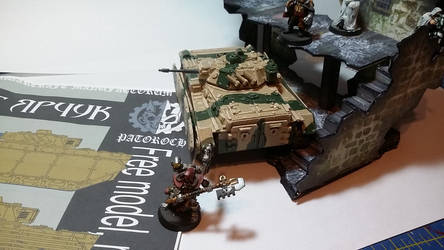 Patoroch BMP model completed (rear top)
