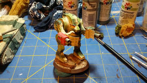 Rouge Trader Era MK I Dreadnought Armor