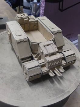 Gothic Space Orc Half Track...  WIP