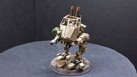 Papercraft Sentinel (WH40K Imperial Guard) 2020