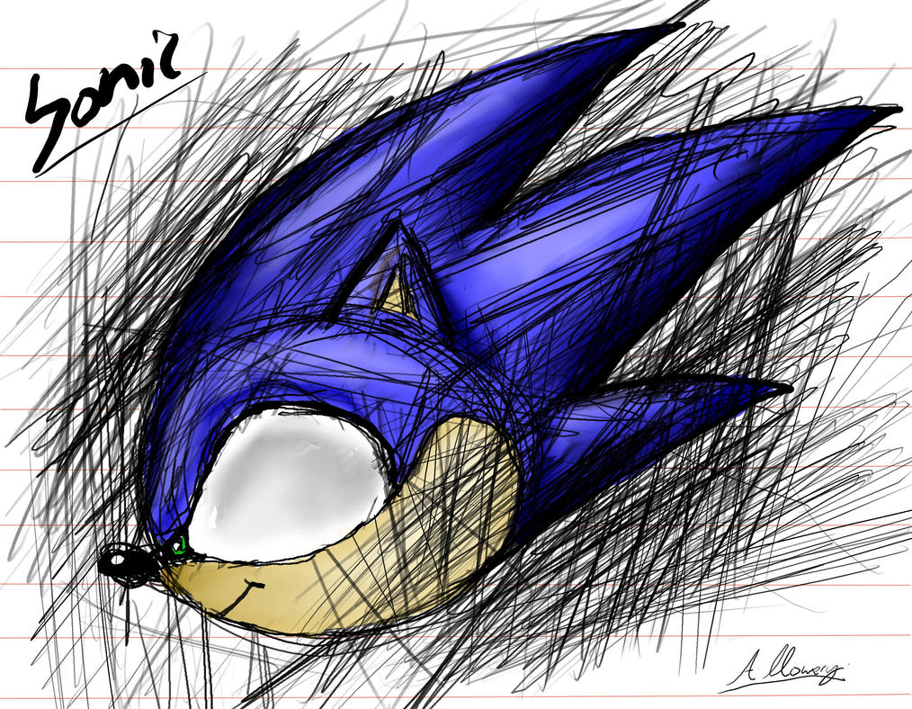 Quick Sonic pic by Adam-Clowery