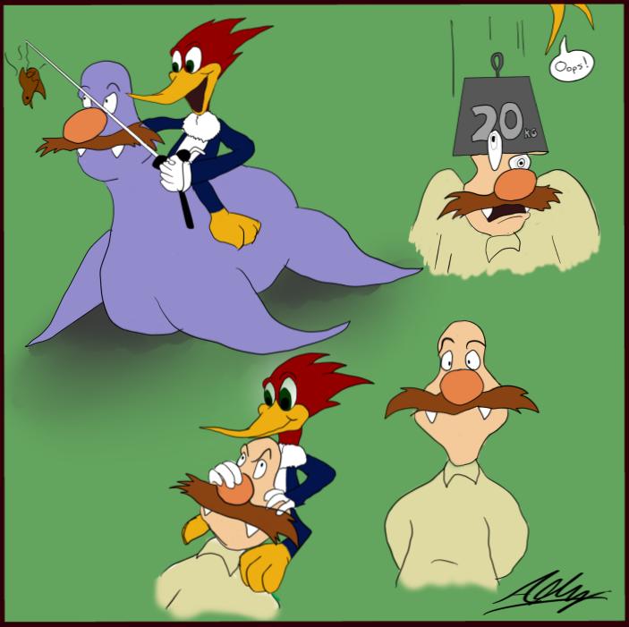 Woody and Wally Board 1 by Adam-Clowery