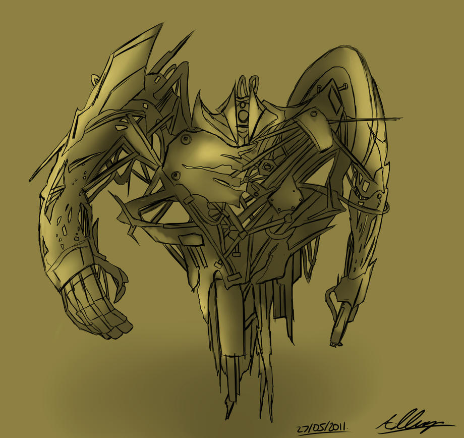 Mech Design 2 - Gladiator by Adam-Clowery