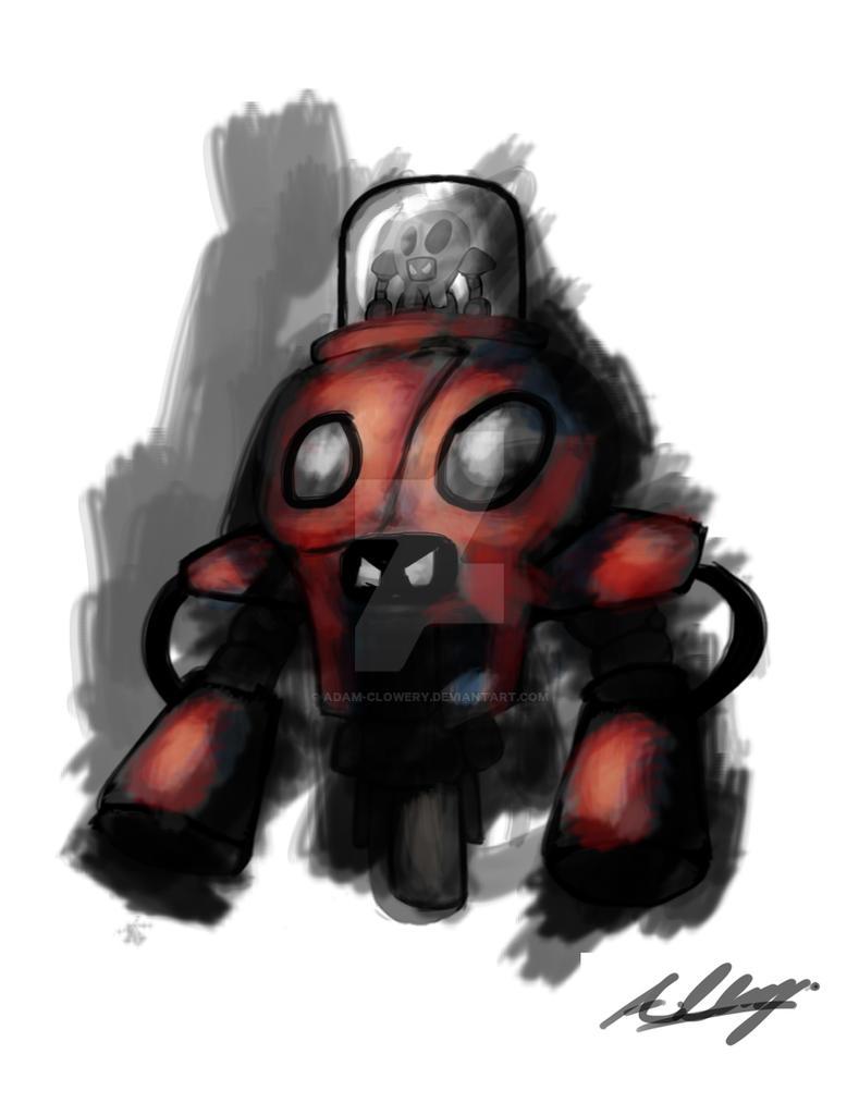 Quick SkullBot by Adam-Clowery