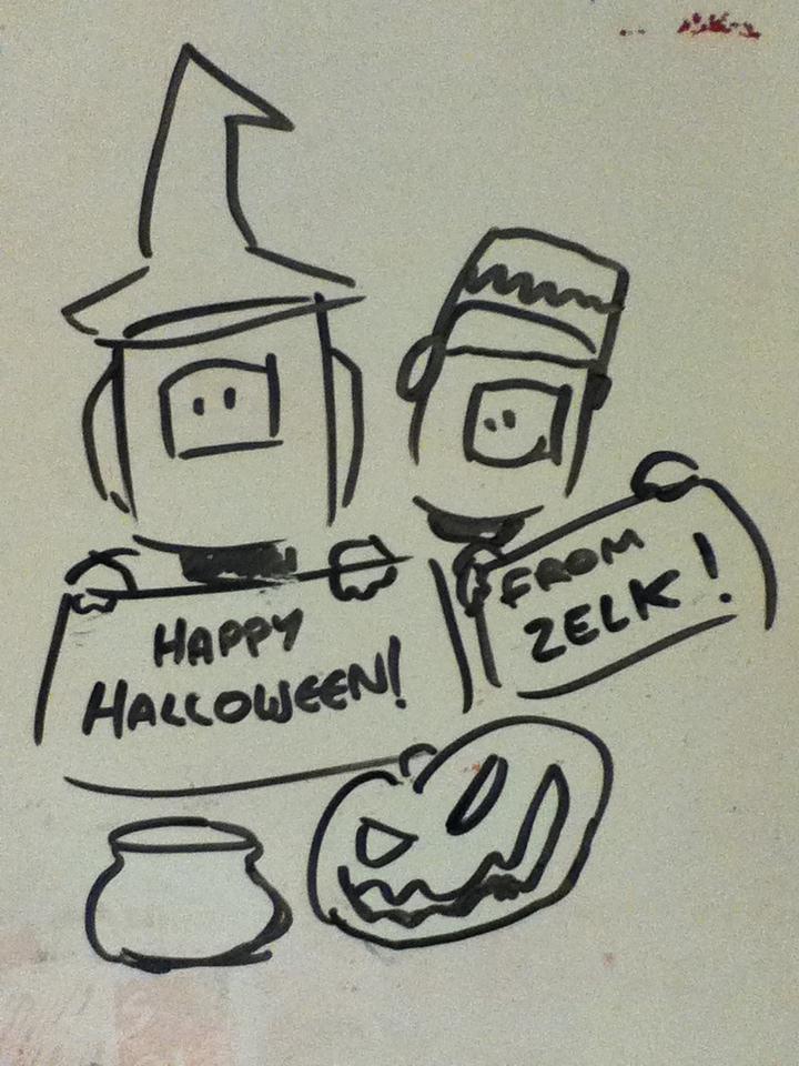 Happy Halloween! by Adam-Clowery