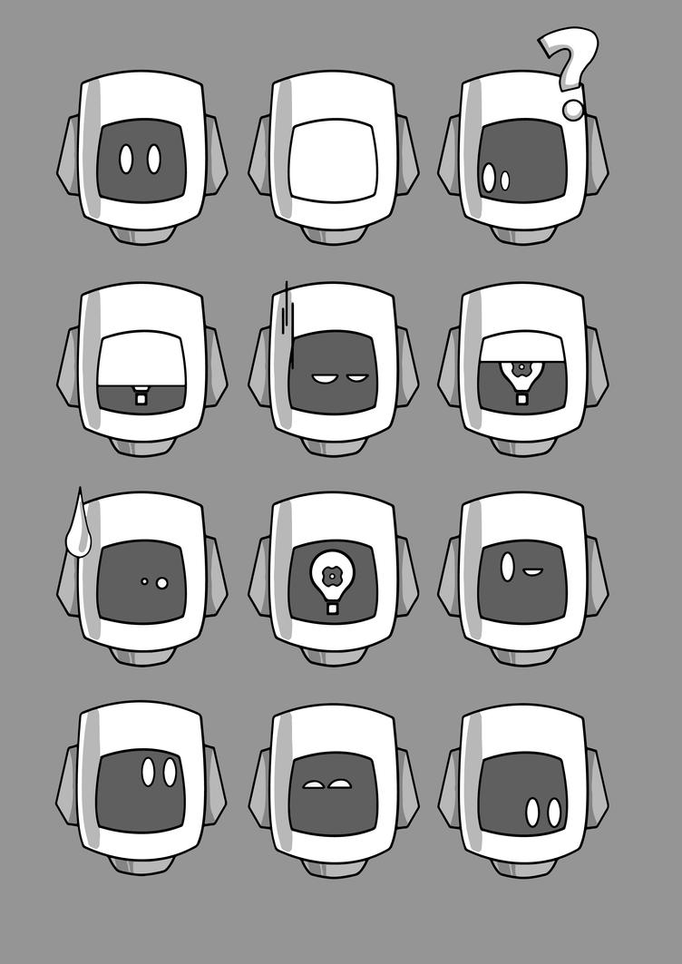 Character Head Sheet by Adam-Clowery
