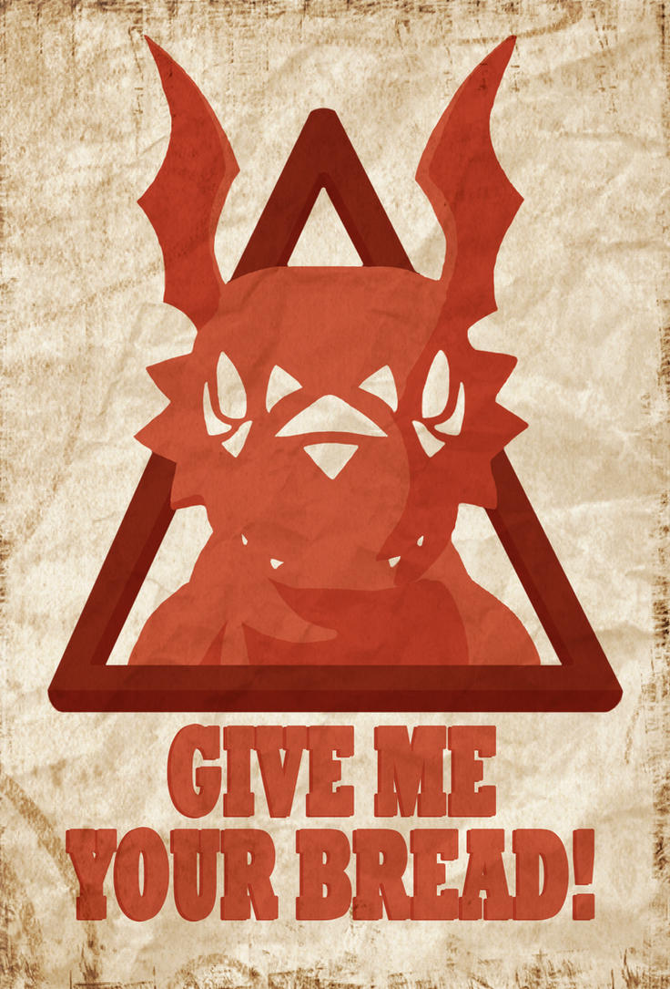 Obey Guilmon by Adam-Clowery