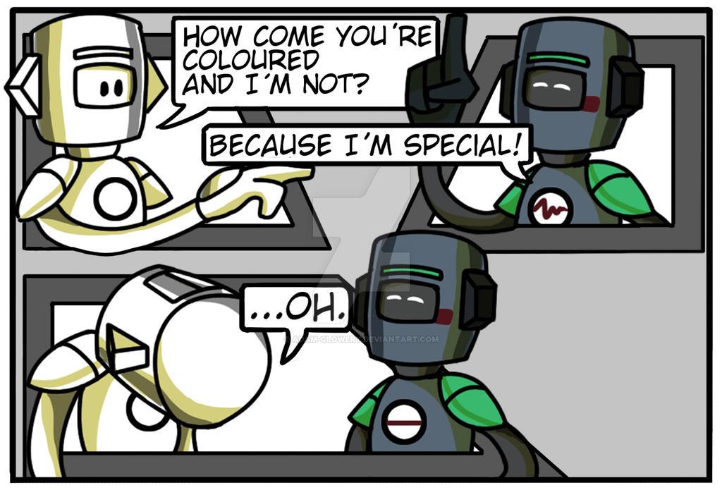 Quick comic strip. by Adam-Clowery