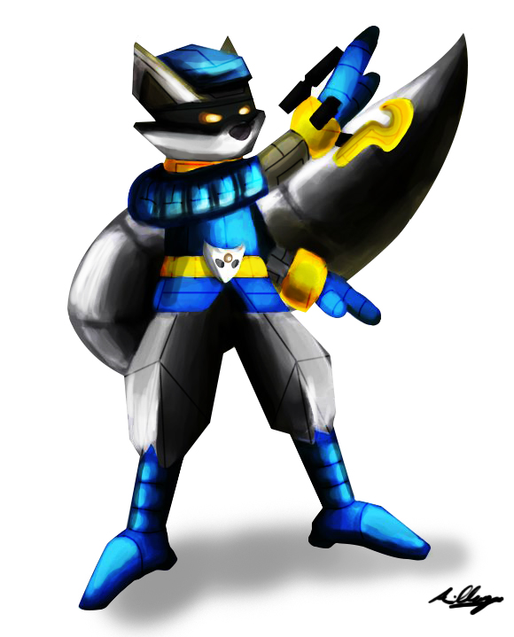 Mecha Sly Cooper by Adam-Clowery