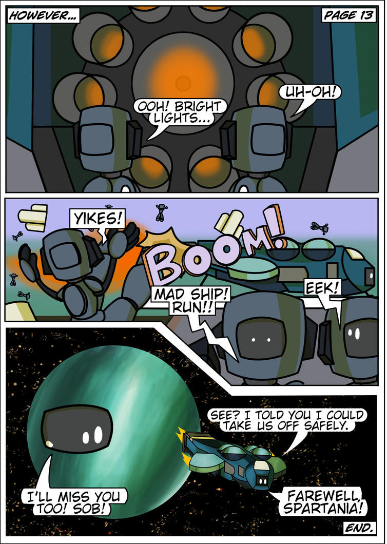 Spartanauts Adventures Comic Page 13 by Adam-Clowery