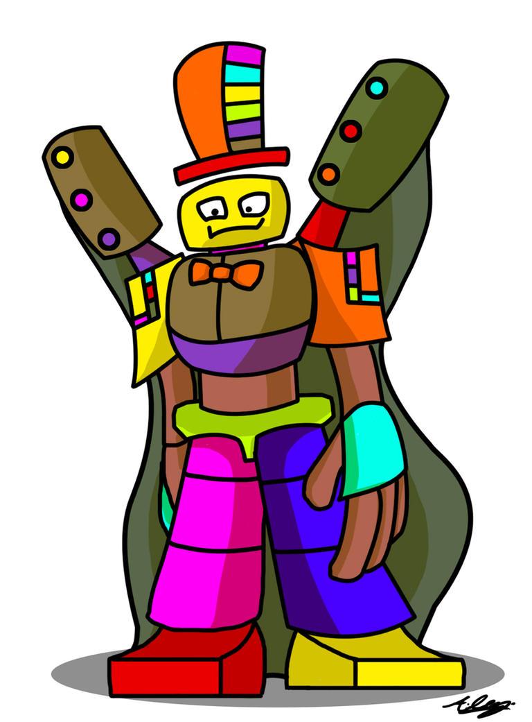 Ringmaster Robot by Adam-Clowery