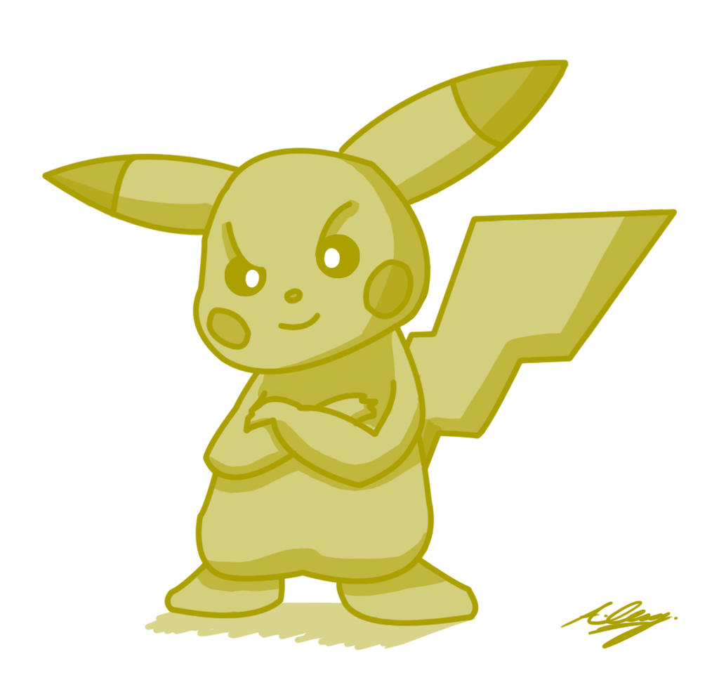 Pikachu by Adam-Clowery