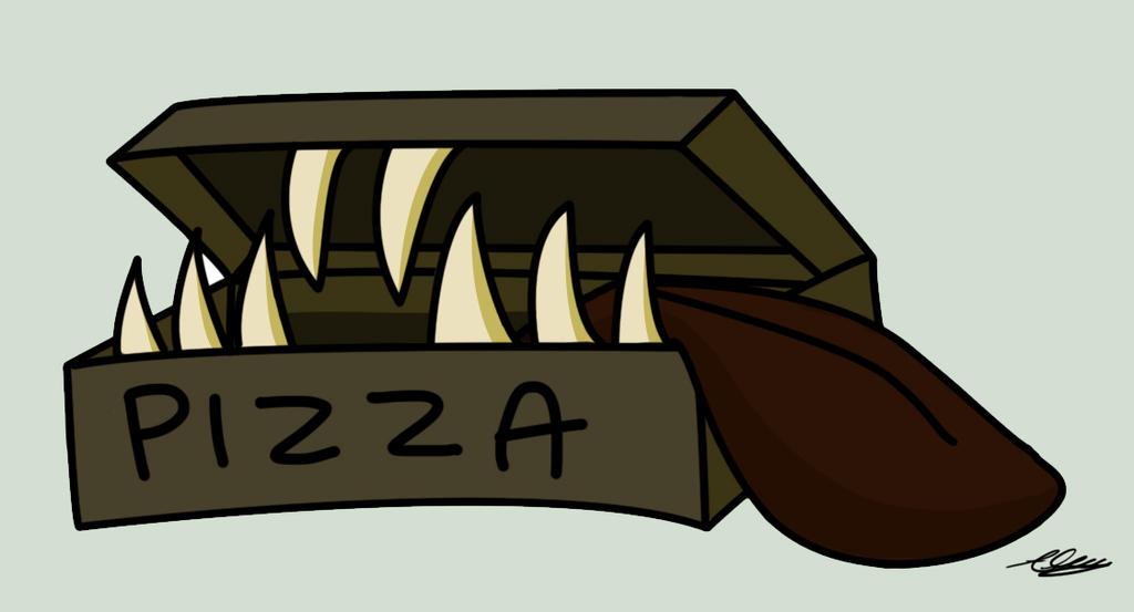 Pizza Anyone? by Adam-Clowery