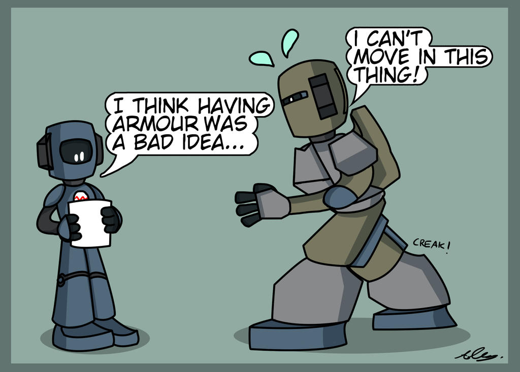 JAC challenge - Armor by Adam-Clowery