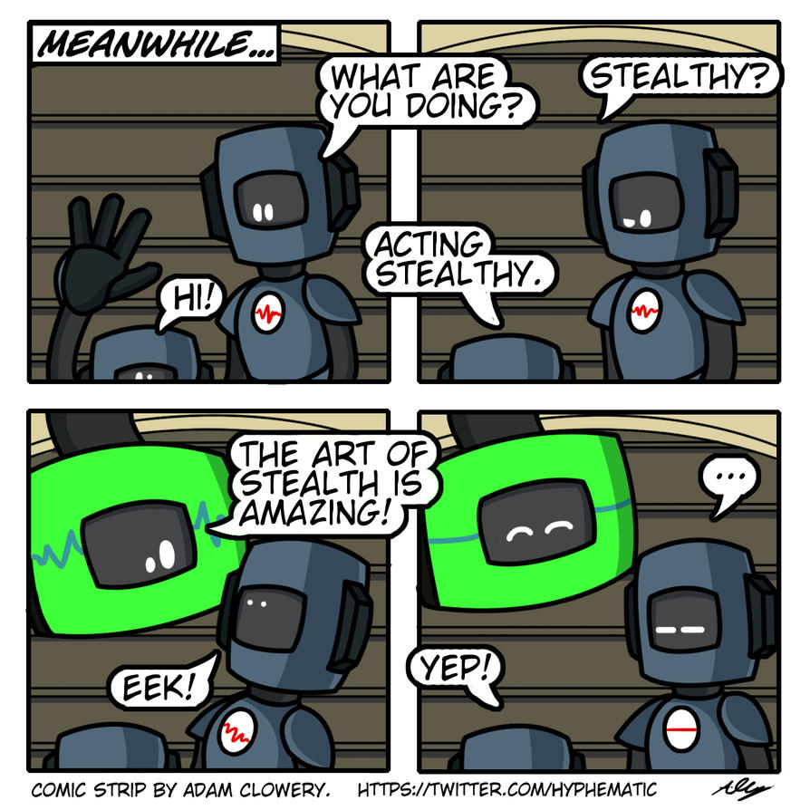Strip #3 - Stealth Training by Adam-Clowery