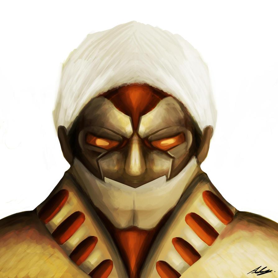 Shingeki no Kyojin - Armored Titan by Adam-Clowery