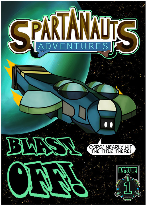 Spartanauts Adventures Comic Issue 1 by Adam-Clowery