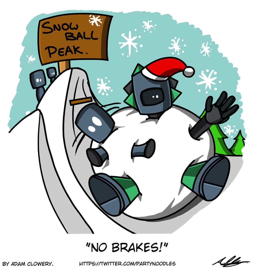 No Brakes! by Adam-Clowery