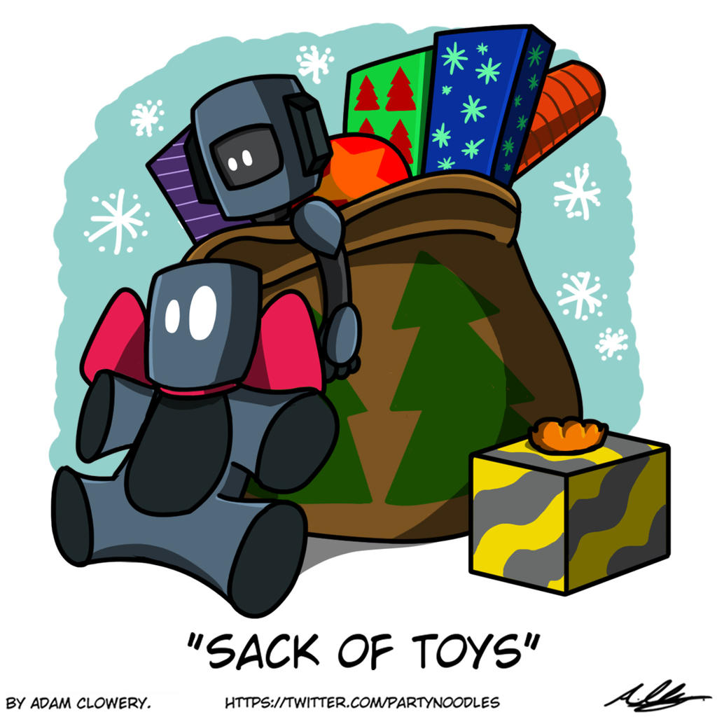 Sack of Toys by Adam-Clowery