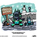 Swimming by Adam-Clowery